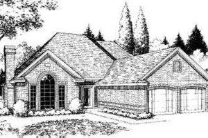 Traditional Exterior - Front Elevation Plan #310-140