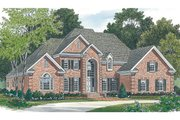 Traditional Style House Plan - 4 Beds 3.5 Baths 3226 Sq/Ft Plan #453-38 Photo