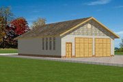 Traditional Style House Plan - 0 Beds 0 Baths 2718 Sq/Ft Plan #117-285