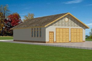 Traditional Exterior - Front Elevation Plan #117-285