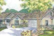 Home Plan - Craftsman Exterior - Front Elevation Plan #124-532