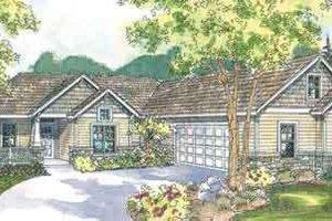 Craftsman Exterior - Front Elevation Plan #124-532