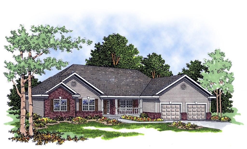 Traditional style house plan 3 beds 2 5 baths 1926 sq ft for Home designs newfoundland