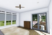 Farmhouse Style House Plan - 3 Beds 4 Baths 2593 Sq/Ft Plan #1069-2 Interior - Master Bedroom