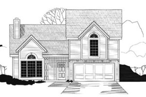 Traditional Exterior - Front Elevation Plan #67-116