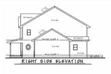 Dream House Plan - Traditional Exterior - Other Elevation Plan #20-2339