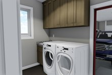 Ranch Interior - Laundry Plan #1060-42