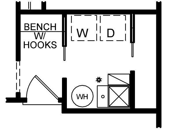 House Design - Optional Rear Foyer