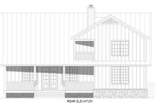 Architectural House Design - Farmhouse Exterior - Rear Elevation Plan #932-394