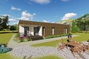Modern Style House Plan - 2 Beds 2 Baths 1687 Sq/Ft Plan #549-8