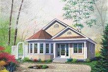 Architectural House Design - Cottage Exterior - Front Elevation Plan #23-181