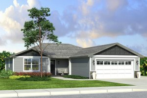 House Plan Design - Traditional Exterior - Front Elevation Plan #124-1009