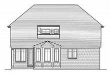 Dream House Plan - European Exterior - Rear Elevation Plan #46-487