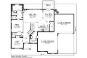 Craftsman Style House Plan - 4 Beds 3.5 Baths 3651 Sq/Ft Plan #70-1289 Floor Plan - Main Floor Plan