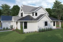 House Plan Design - Farmhouse Exterior - Other Elevation Plan #1070-3
