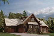 Farmhouse Style House Plan - 4 Beds 2.5 Baths 2113 Sq/Ft Plan #923-181 Exterior - Other Elevation