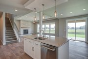 Farmhouse Style House Plan - 4 Beds 2.5 Baths 3138 Sq/Ft Plan #1070-51 Interior - Kitchen