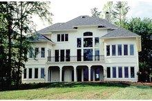 Dream House Plan - European Exterior - Rear Elevation Plan #453-39
