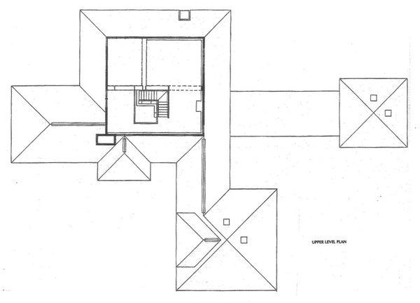 Prairie Floor Plan - Upper Floor Plan Plan #454-10