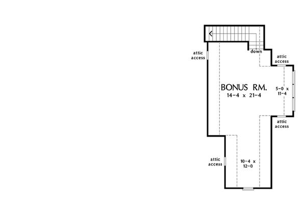Dream House Plan - Optional Bonus