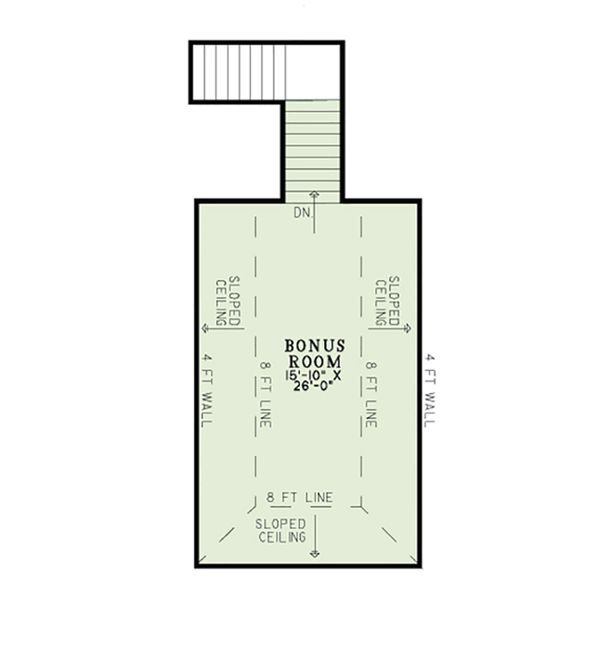 European Floor Plan - Other Floor Plan Plan #17-2561