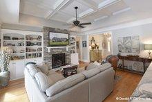 Home Plan Design - Craftsman Interior - Family Room Plan #929-1025