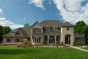 Dream House Plan - Country Exterior - Front Elevation Plan #928-265