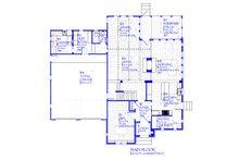 Tudor Floor Plan - Main Floor Plan Plan #901-141