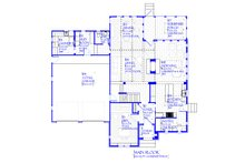 Tudor Floor Plan - Main Floor Plan Plan #901-141
