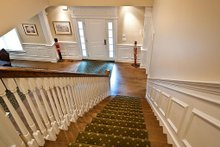 Architectural House Design - Staircase - 3500 square foot Country Home
