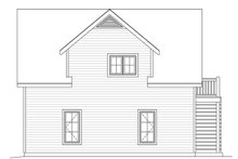 House Plan Design - Traditional Exterior - Rear Elevation Plan #22-564