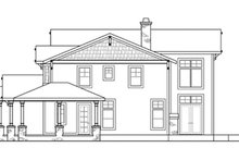 Home Plan - Craftsman Exterior - Other Elevation Plan #124-674