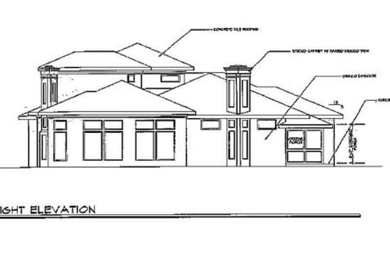 Exterior - Other Elevation Plan #124-211 - Houseplans.com