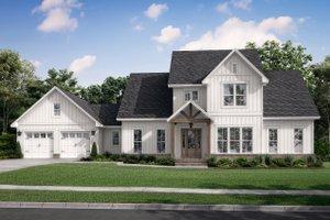 Farmhouse Exterior - Front Elevation Plan #430-248