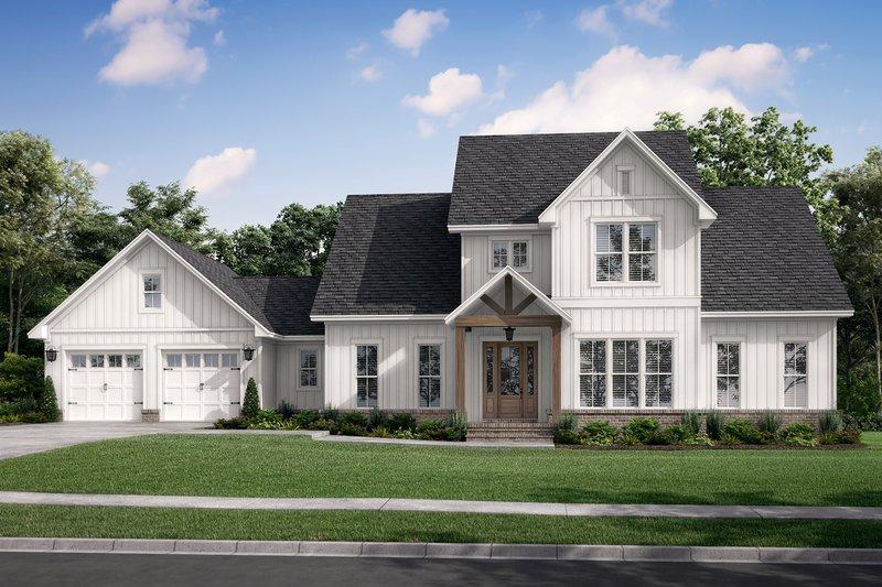House Plan Design - Farmhouse Exterior - Front Elevation Plan #430-248