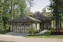 House Plan Design - Craftsman Exterior - Rear Elevation Plan #453-9