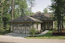 House Plan Design - Craftsman Exterior - Rear Elevation Plan #453-9