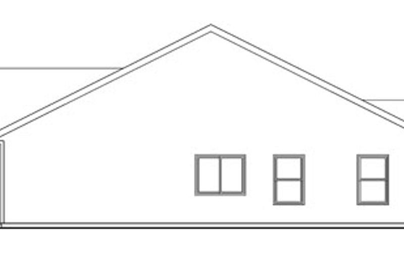 Craftsman Exterior - Other Elevation Plan #124-747 - Houseplans.com