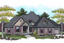 Home Plan - European Exterior - Other Elevation Plan #70-960