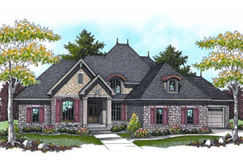 Dream House Plan - European Exterior - Other Elevation Plan #70-960