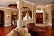 European Style House Plan - 3 Beds 3.5 Baths 4398 Sq/Ft Plan #135-134 Photo