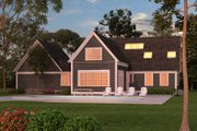 Colonial Style House Plan - 3 Beds 3 Baths 2981 Sq/Ft Plan #903-3