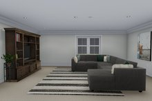 Dream House Plan - Ranch Interior - Family Room Plan #1060-12