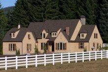 Architectural House Design - European Exterior - Front Elevation Plan #137-227