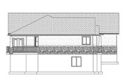 Ranch Style House Plan - 2 Beds 2 Baths 1767 Sq/Ft Plan #1060-2 Exterior - Other Elevation