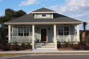 Craftsman Style House Plan - 3 Beds 2 Baths 1595 Sq/Ft Plan #461-21 Exterior - Front Elevation