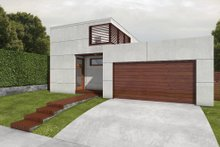 House Design - Modern Exterior - Front Elevation Plan #497-22