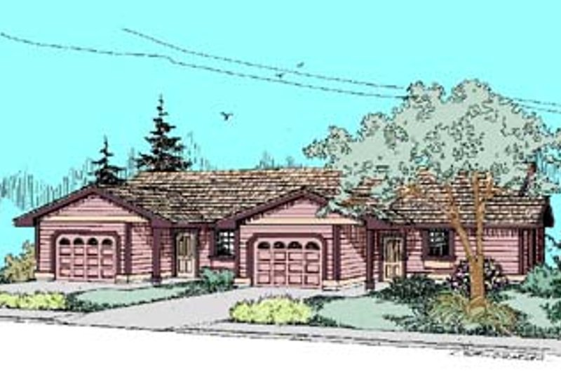 Ranch Exterior - Front Elevation Plan #60-433