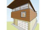 Modern Style House Plan - 4 Beds 3.5 Baths 3230 Sq/Ft Plan #469-1 Photo