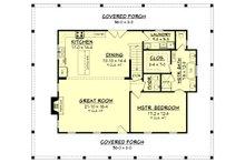 Country Floor Plan - Main Floor Plan Plan #430-150